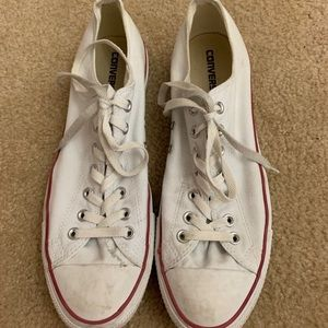 men's white converse all star